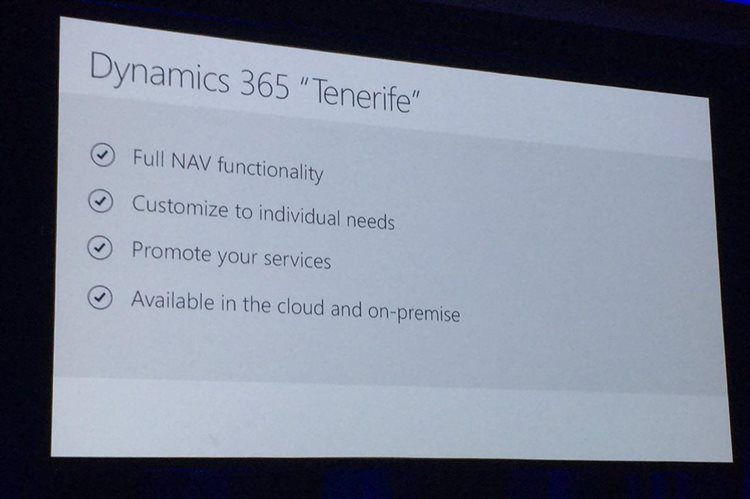 dynamics 365 functionality