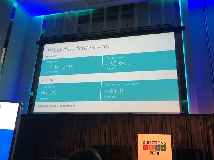 Wrap-up of Directions Asia conference: news on Dynamics 365