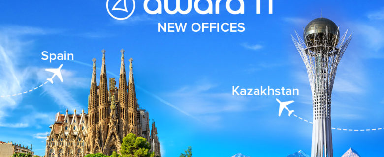 Awara IT accelerates growth with opening offices in Kazakhstan and Spain