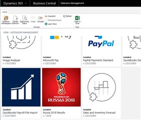 fifa dynamics 365 business central extension