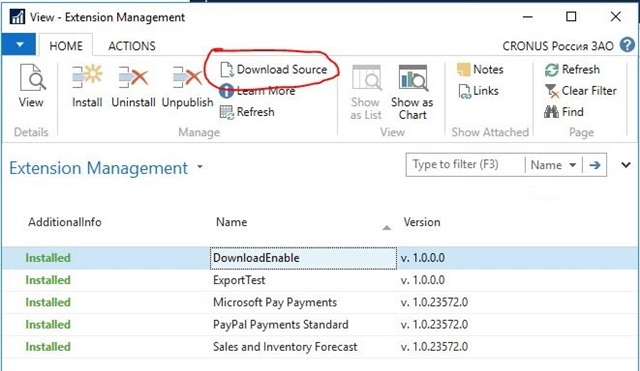 "Disabling ""Download Source"" action in Extension management – Awara IT"
