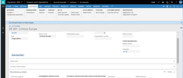 dynamics 365 finance-and-operations