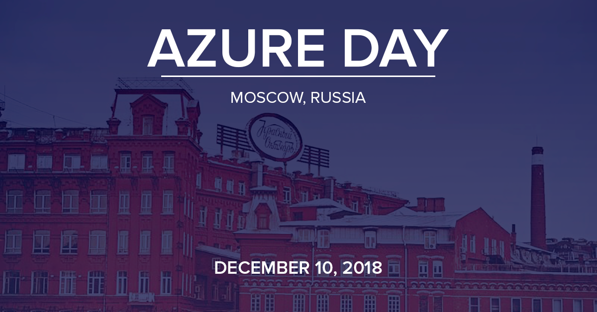 Azure Day 10.12.2018