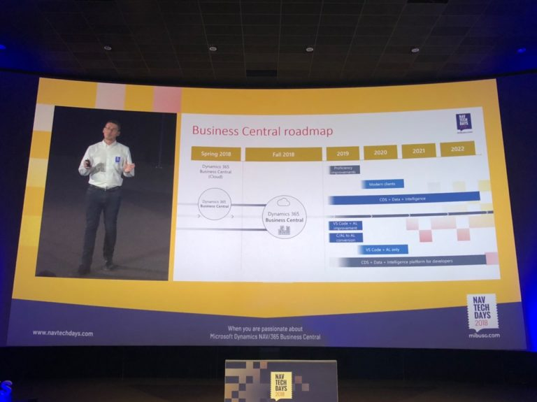 awara it dynamics business central roadmap navtechdays