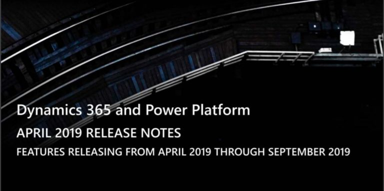 release notes dynamics 365 power platform